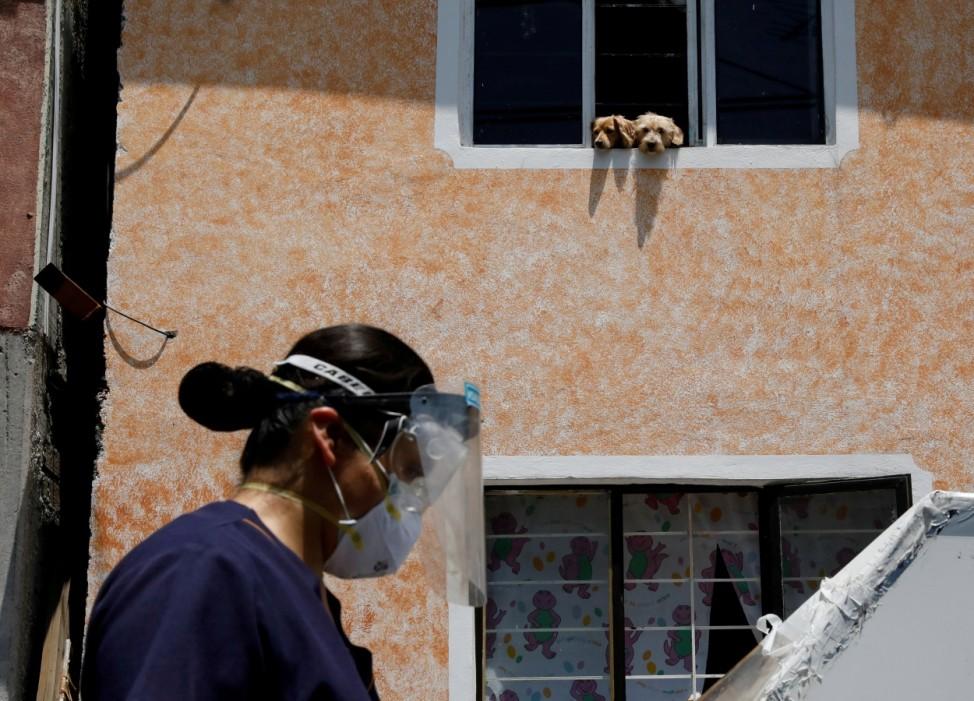 Outbreak of the coronavirus disease (COVID-19) in Mexico City