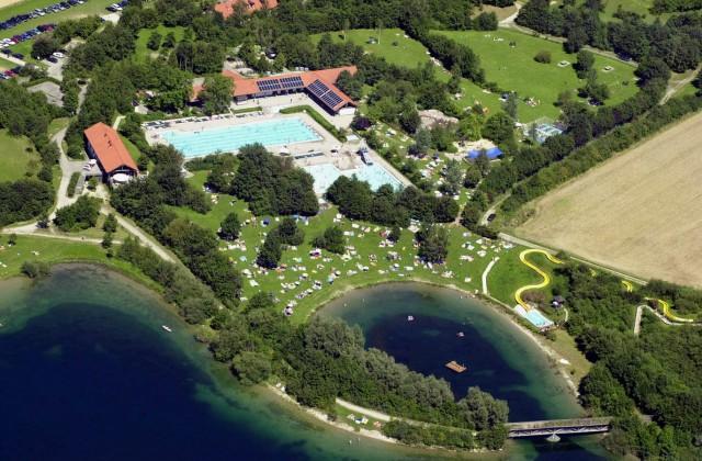 Luftbild Freizeitpark Mammendorf, kostenloses Pressefoto