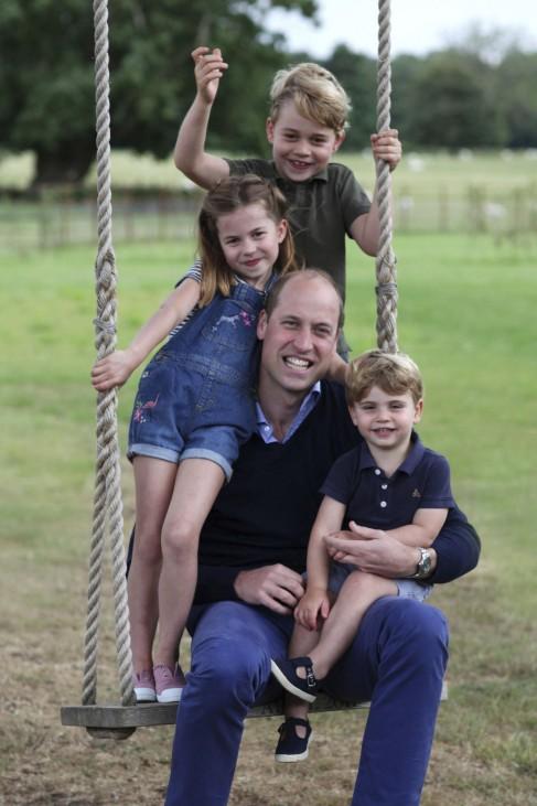 Vor dem 7. Geburtstag von Prinz George