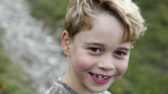 Prinz George von Großbritannien wird sieben Jahre alt