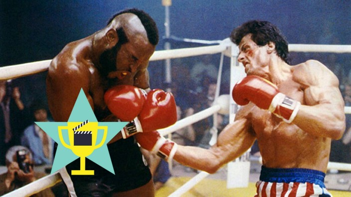 Mr. T & Sylvester Stallone Characters: Clubber Lang, Rocky Balboa Film: Rocky Iii (USA 1982) / Lawrence Tureaud Director