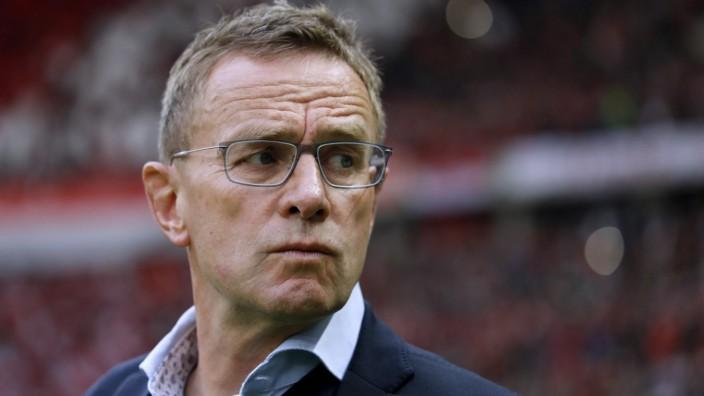 Fußball, DFB-Pokalfinale 2018/2019, RB Leipzig - FC Bayern München RANGNICK Ralf Trainer Team RB Leipzig DFB Pokal Ends