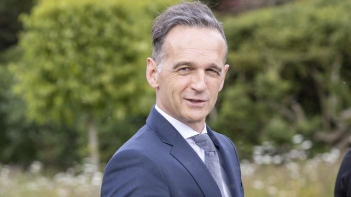 Bundesaussenminister Heiko Maas, SPD, reist nach Grossbritannien. BM Maas trifft im Chevening House, dem Landsitz des Au