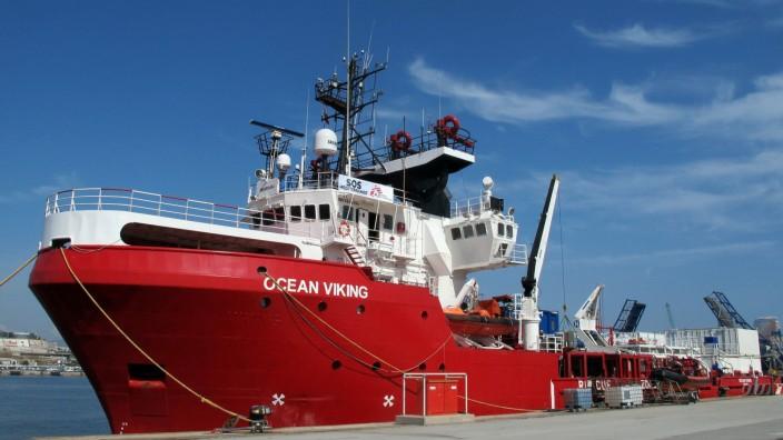 Hilfsorganisation: Ocean Viking in Italien festgesetzt
