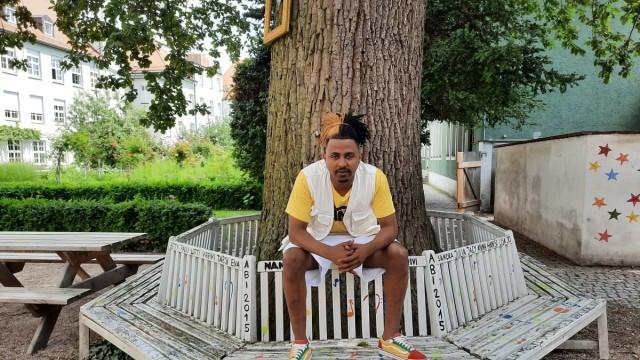 Hintsa Solomon, ein Flüchtling aus Eritrea, der in Ingolstadt sein Abitur gemacht hat.