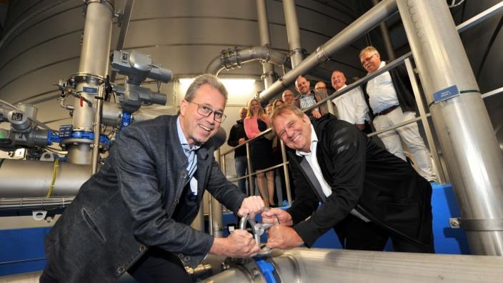 Feldafing: neuer Wasserhochbehälter
