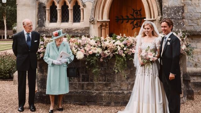 Britische Prinzessin Beatrice hat geheiratet