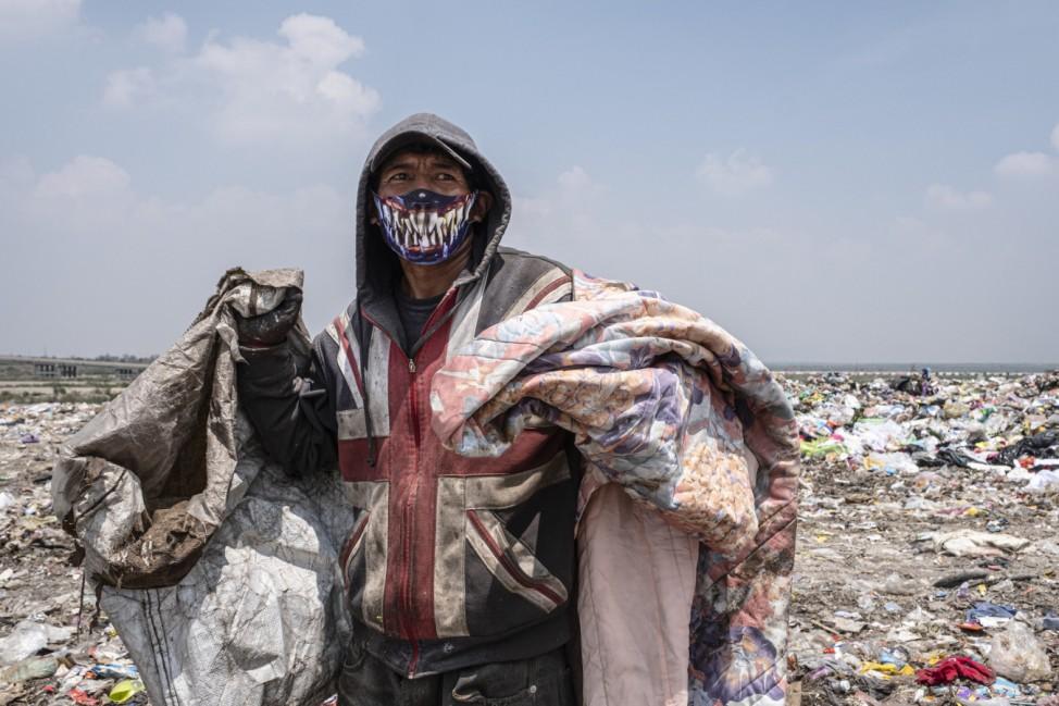 Müllsammler in Mexiko