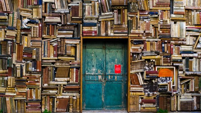 Lesen in Gemeinschaft: Wenn man wieder aufschaut, ist man zwei Stunden querfeldein durch den eigenen Bücherschrank spaziert.