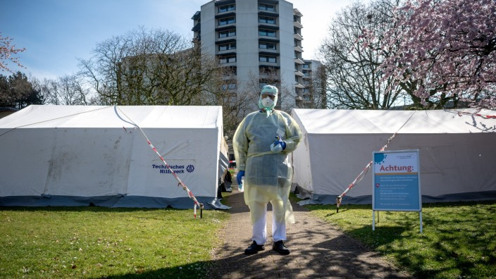 Coronavirus - Bremen - Neue Corona-Ambulanz