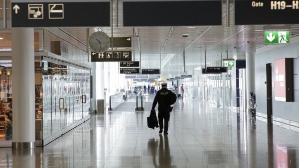 Flughafen in München, 2020