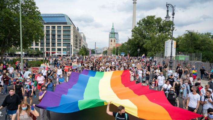 Dyke Marsch in Berlin