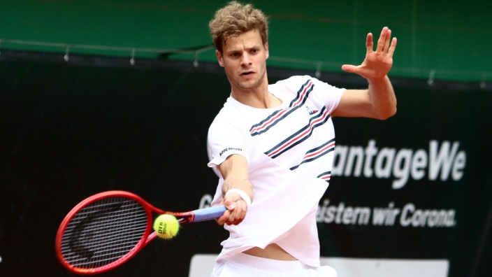 July 24, 2020, Grosshesselohe, Germany: in the picture Yannik HANFMANN, the winner of the tournament.Mens Tennis, final