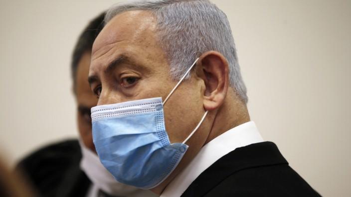 Beweisaufnahme in Netanjahus Prozess im Januar 2021