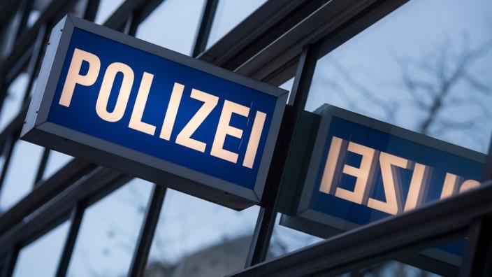 Polizei-Dienststelle in Frankfurt