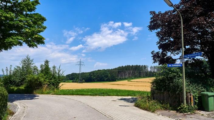 Schönblick Grafing wg. Bauflächenerweiterung