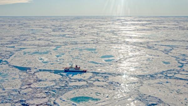 Arktis: Meereis auf historischem Juli-Tiefstand