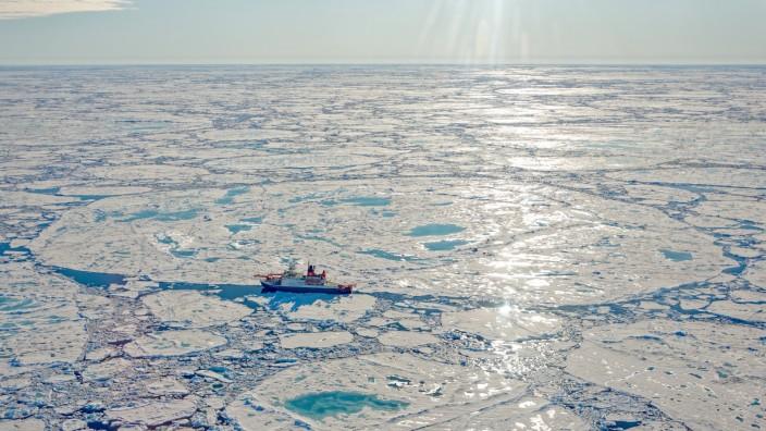 Klimawandel: Meereis in der Arktis auf historischem Juli-Tiefstand