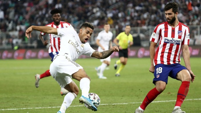 Real Madrid: Mariano im Super-Cup-Finale gegen Atletico Madrid