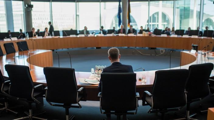 Politik Amri Untersuchungsausschuss des Bundestag 31 Sitzung des 1 Untersuchungsausschuss der 19