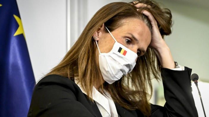 Belgien: Premierministerin Sophie Wilmès