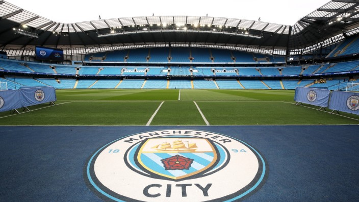 Manchester City v Newcastle United Premier League Etihad Stadium General view of the ground befo; City