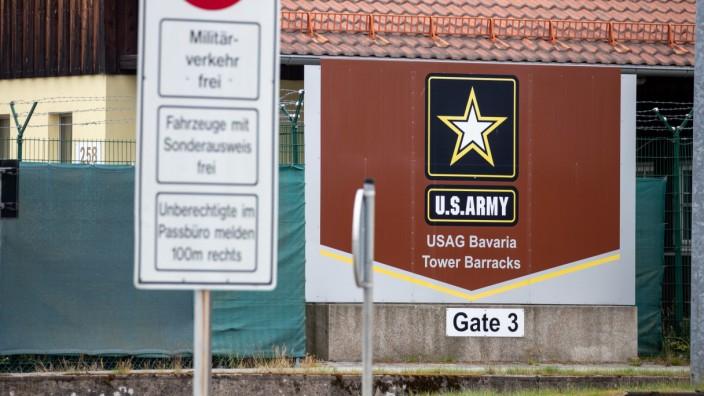 Truppenübungsplatz der US-Army in Grafenwöhr