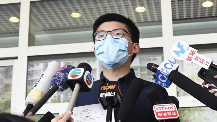 Hongkonger Aktivist Wong kandidiert bei Parlamentswahl