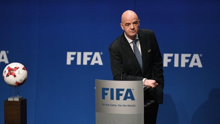 Themen der Woche SPORT Bilder des Tages SPORT Fussball International FIFA Council Meeting Pres