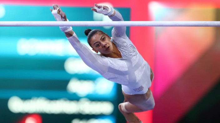 Rebecca Downie (GBR), OCTOBER 12, 2019 - Artistic Gymnastics : The 2019 Artistic Gymnastics World Championships, Women s