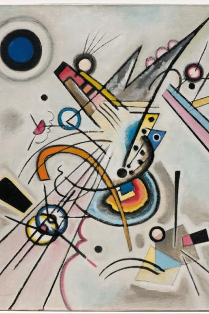 Wassily Kandinsky Diagonale