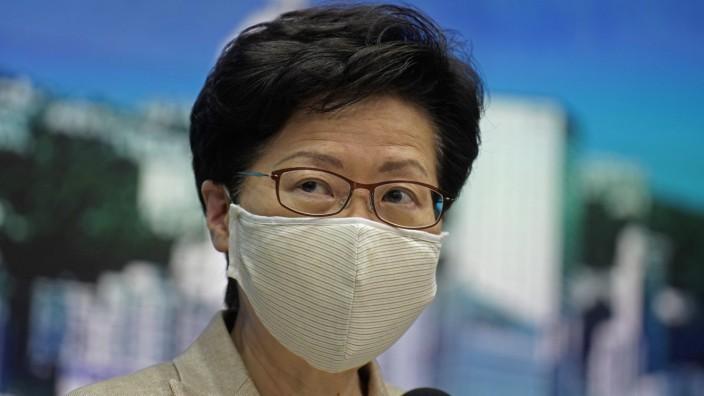Carrie Lam Hongkong Wahl