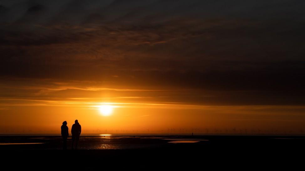 Sonnenaufgang in Cuxhaven
