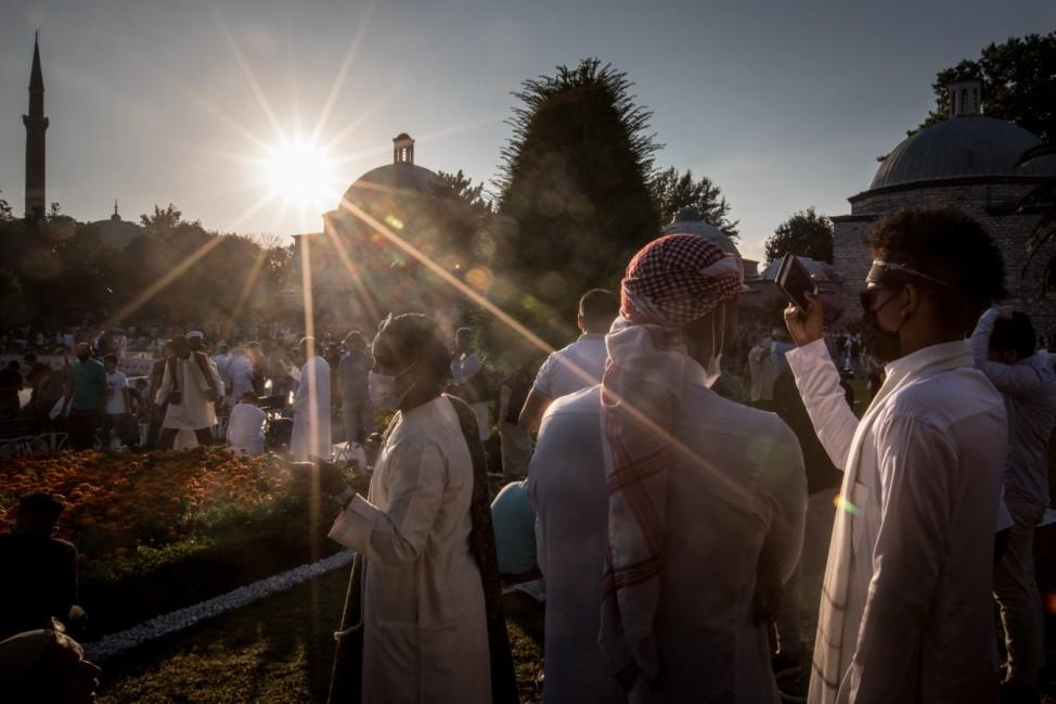 Eid al-Adha Celebrated In Turkey