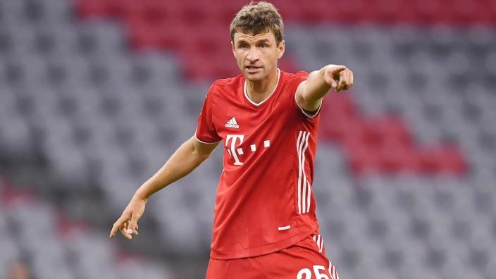 Fussball Thomas Mueller (Bayern) Muenchen, 10.06.2020, Fussball, DFB-Pokal, Halbfinale, FC Bayern Muenchen - Eintracht; Müller
