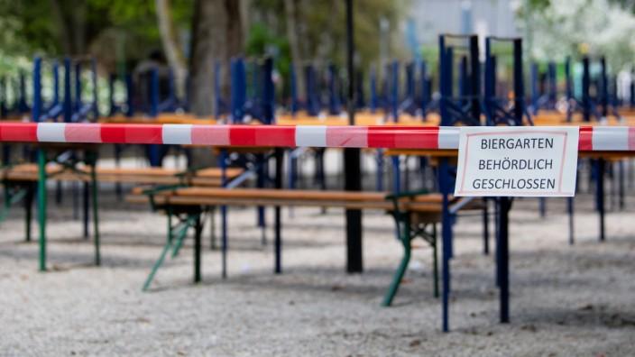 Im März mussten wegen der Corona-Pandemie alle Lokale und Biergärten schließen.