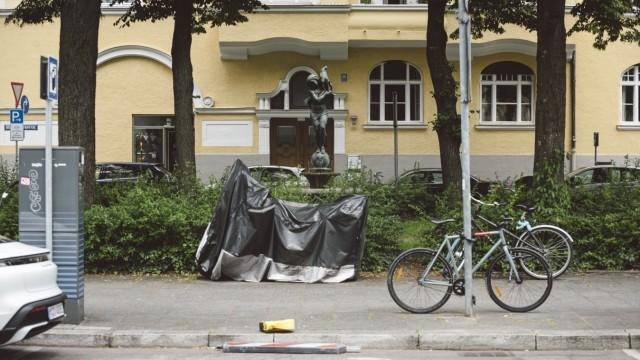 Schwabing: Gut geeignet: Für ein Pilotprojekt an der Hiltenspergerstraße sollen Anwohner ihre Autos weiter entfernt abstellen.
