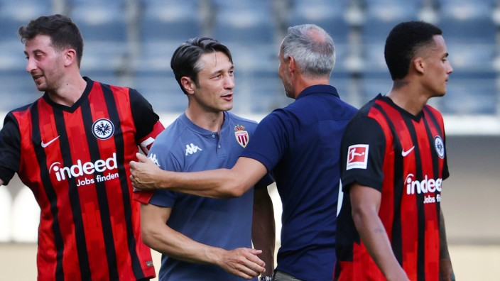 Friendly Match - Eintracht Frankfurt vs AS Monaco