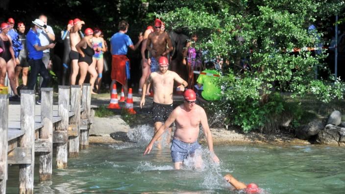 Possenhofen: Starnberger See Schwimmen