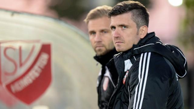 v re Trainer Sebastian Kneißl Kneissl SV Heimstetten II Fussball Kreisliga München 3 SV Hei; Fußball