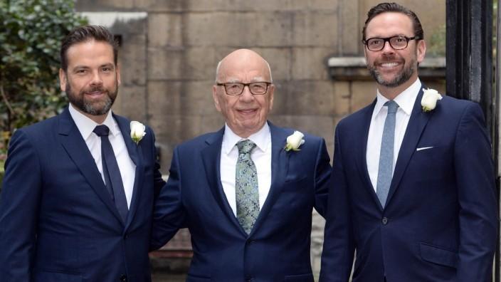 . 05/03/2016. London, United Kingdom. Rupert Murdoch and Jerry Hall s Wedding. Rupert Murdoch and Jerry Hall s private