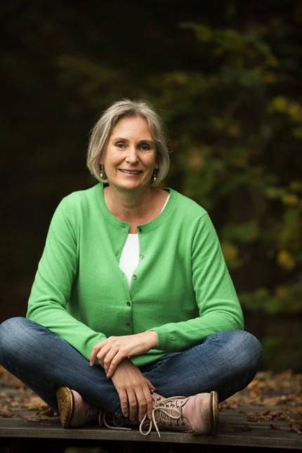 Hohenbrunn, Porträt von Anke Lunemann, die für die Grünen als Bürgermeisterkandidatin antritt.