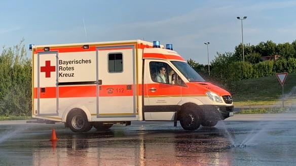 Fahrsicherheitskurse für Rettungskräfte