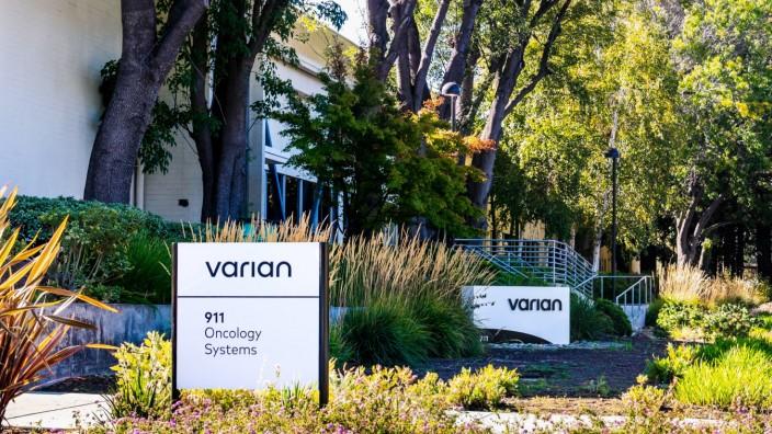 Siemens Healthineers: Die Firmenzentrale von Varian soll vorerst im Silicon Valley bleiben.