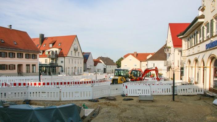 Baustelle Marktplatz