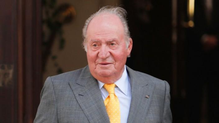 Spaniens Ex-König Juan Carlos