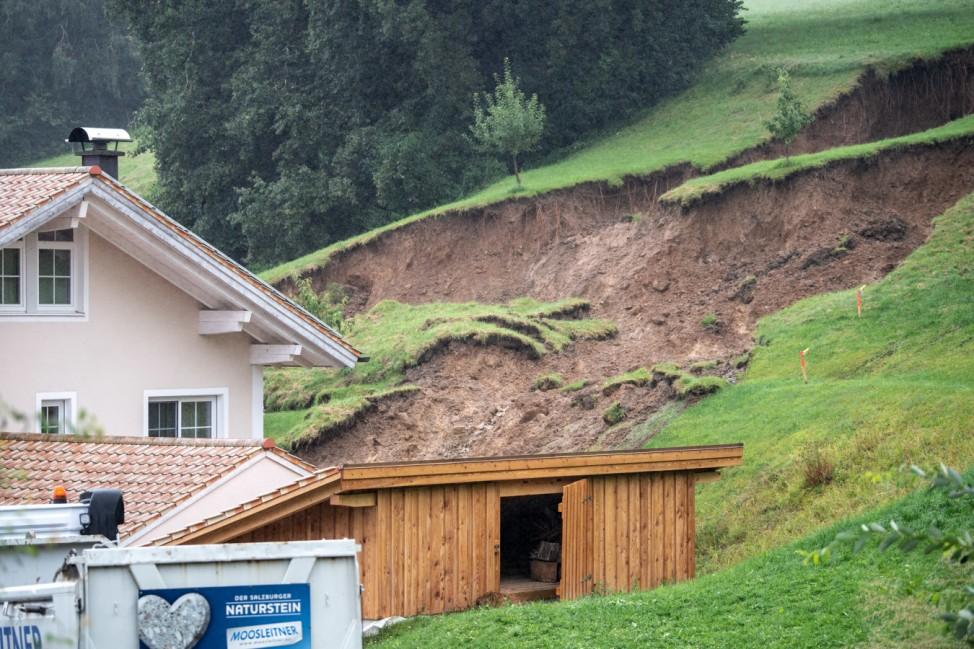 Dauerregen in Bayern