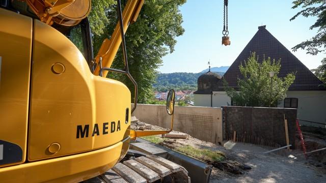 Baustellen Bad Tölz Bürgergarten