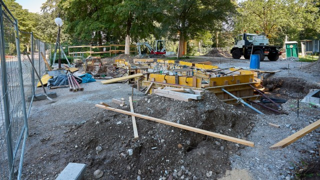 Baustellen Bad Tölz KneippGarten