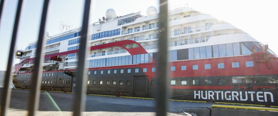 Corona-Fälle auf norwegischem Passagierschiff